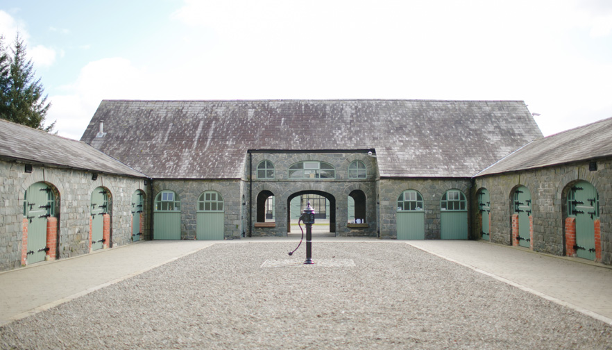 The Courtyard and Stable Yard